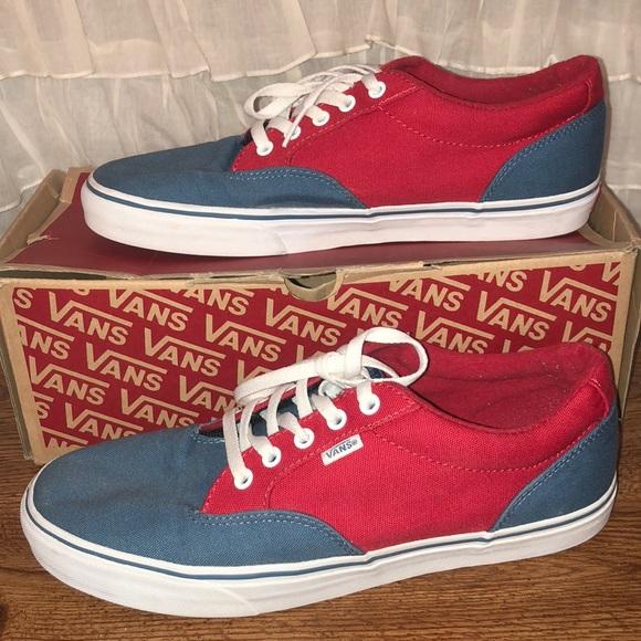 red vans size 11